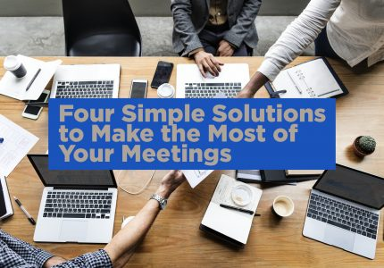mba productive business meetings