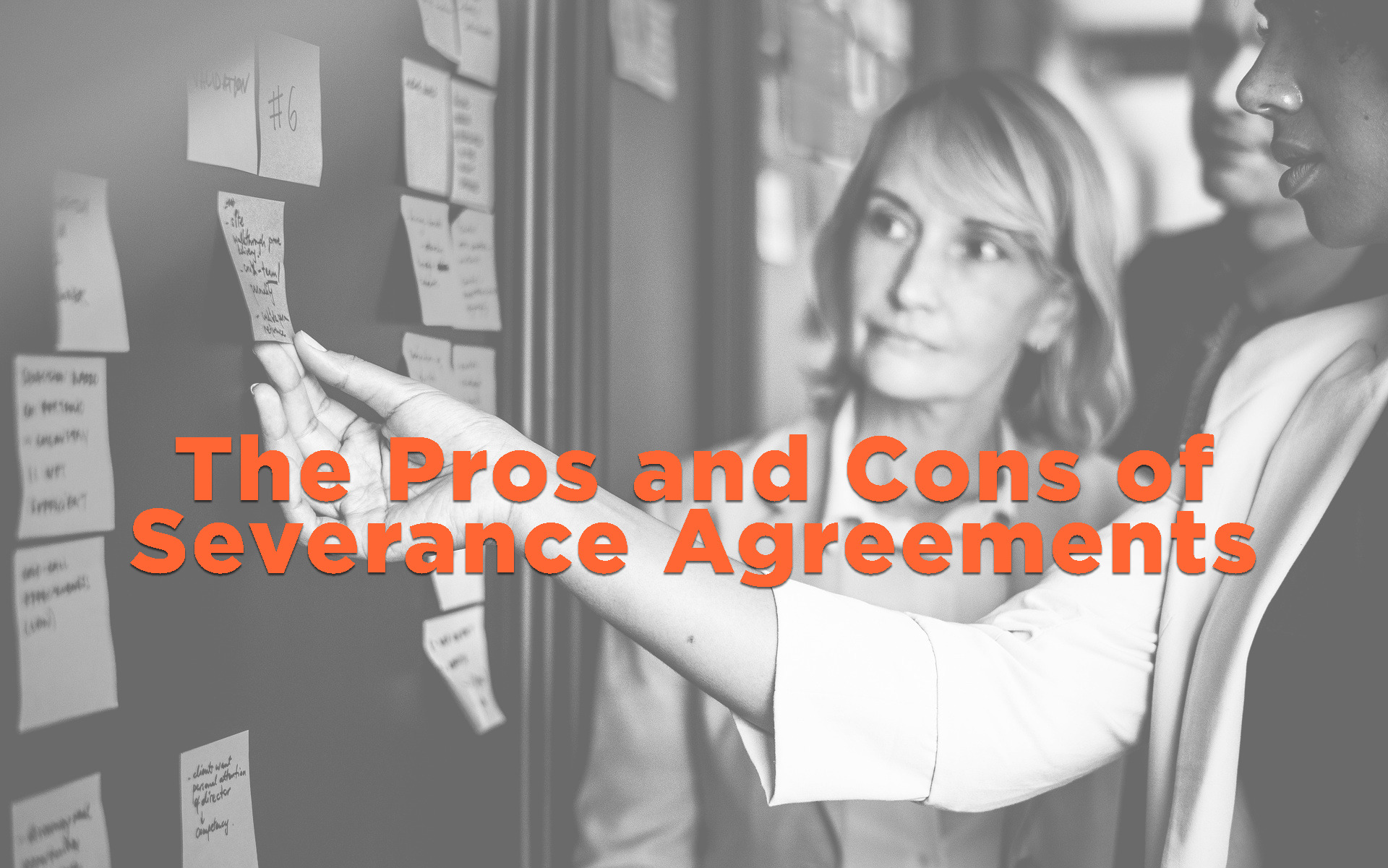 the pros and cons of severance agreements